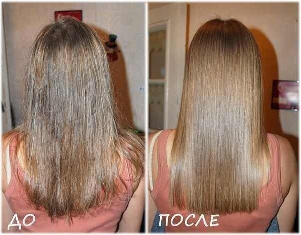 Для глазирования волос в домашних условиях